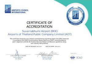 BKK ACI AHA Certificate